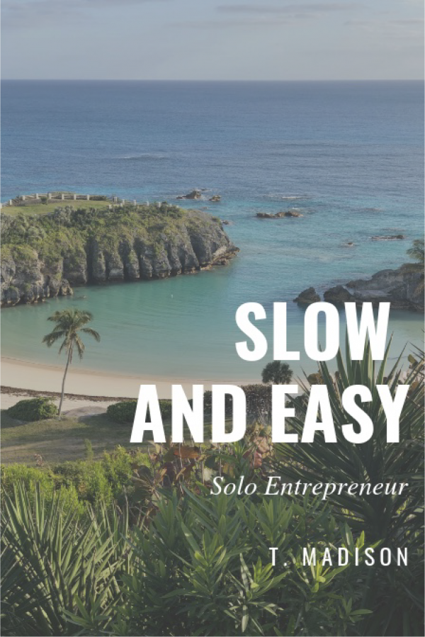 Slow And Easy Solo Entrepreneur by Tasha Madison