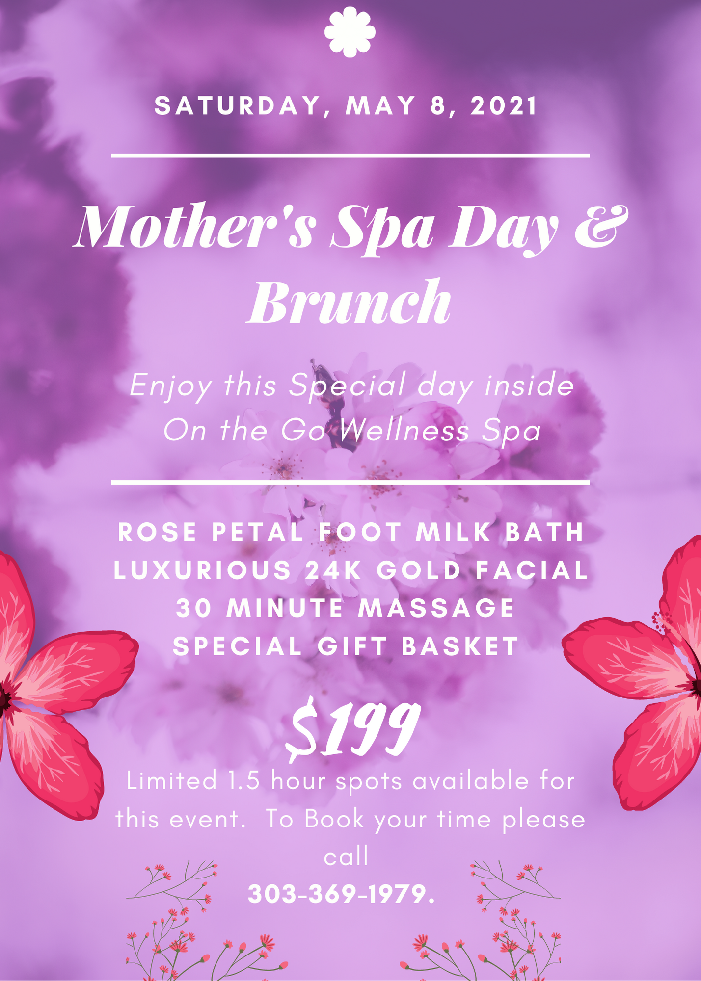 Mothers Spa Day Brunch 2021